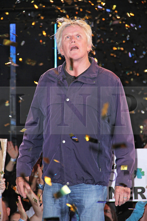 © Licensed to London News Pictures. 12/09/2014, UK. Gary Busey, Celebrity Big Brother Summer 2014 - Live Final, Elstree Studios, Elstree UK, 12 September 2014. Photo credit : Brett D. Cove/Piqtured/LNP