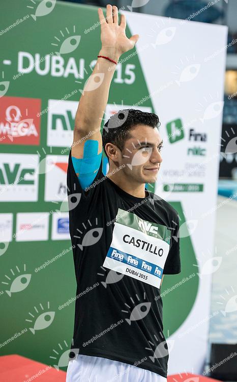 CASTILLO Yahel MEX<br /> FINA/NVD Diving World Series - 3 m. sprinboard Women<br /> Hamdan Bin Rashid Bin Mohammed Sport Complex<br /> Dubai 19 - 21  March 2015<br /> Day 2 - March 20 th <br /> Photo Giorgio Scala / Deepbluemedia
