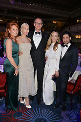 Left to right, SARAH, DUCHESS OF YORK, AMANDA CRONIN,  MARK DAECHE, TAMARA RALPH and MICHAEL RUSSO at The Butterfly Ball in aid of Caudwell Children held at the Grosvenor House, Park Lane, London on 25th June 2015