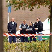 Overval tankstation BP Holleblok Huizen, politie