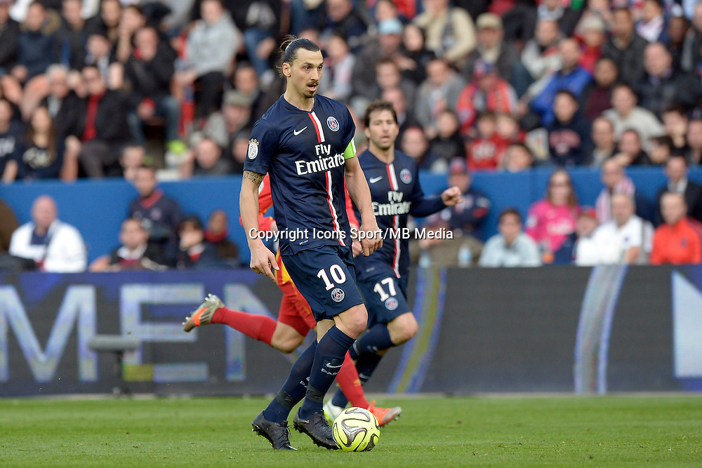 Zlatan IBRAHIMOVIC - 07.03.2015 -   PSG / Lens -  28eme journee de Ligue 1 <br />