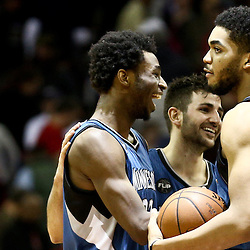 02-27-2016 Minnesota Timberwolves at New Orleans Pelicans