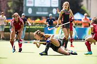 St.-Job-In 't Goor / Antwerpen -  Nederland Jong Oranje Dames (JOD) - Groot Brittannie (7-2). Fay van der Elst (ned)  COPYRIGHT  KOEN SUYK