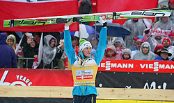 23.03.2014, Planica, Ratece, SLO, FIS Weltcup Ski Sprung, Planica, Siegerehrung, Skifliegen, Gesamtwertung, im Bild PETER PREVC Sieger Gesamtwertung / on podium of overall mens FIS Ski flying Worldcup Cup at Planica in Ratece, Slovenia on 2014/03/23. EXPA Pictures © 2014, PhotoCredit: EXPA/ Newspix/ Katarzyna Woloszczak<br /> <br /> *****ATTENTION - for AUT, SLO, CRO, SRB, BIH, MAZ, TUR, SUI, SWE only*****