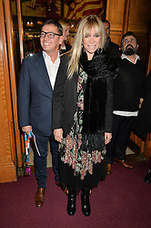SID OWEN and JO WOOD at the Cirque Du Soleil's VIP performance of Kooza at The Royal Albert Hall, London on 6th January 2015.