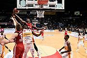 Strautins Artus, Cooke Derek, Eboua Paul<br /> Carpegna Prosciutto Basket Pesaro - Allianz Pallacanestro Trieste<br /> Campionato serie A 2019/2020 <br /> Pesaro 5/01/2020<br /> Foto M.Ciaramicoli // CIAMILLO-CASTORIA