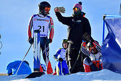 BURTON Kevin, Guide: GRIMMELMANN Kurt, B2, USA, Giant Slalom at the WPAS_2019 Alpine Skiing World Cup, La Molina, Spain