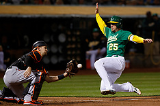 20180504 - Baltimore Orioles at Oakland Athletics