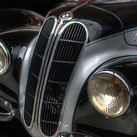 Classic car. Early BMW
