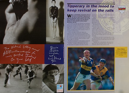 All Ireland Senior Hurling Championship - Final, .14.09.1997, 09.14.1997, 14th September 1997, .14091997AISHCF,.Senior Clare v Tipperary .Tipperary 2-16, Wexford 0-15,.Minor Clare v Galway, .National Lottery,