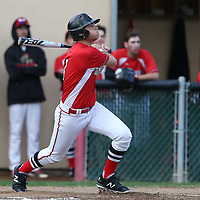 Westmont #3 Cameron Rottler vs Leland in a BVAL Baseball Game at Westmont High School, Campbell CA on 3//23/2018. (Photograph by Bill Gerth/ for SVCN) (Leland 9 Westmont 8)