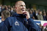 Sunderland Manager Simon Grayson during the EFL Sky Bet Championship match between Ipswich Town and Sunderland at Portman Road, Ipswich, England on 26 September 2017. Photo by Phil Chaplin.