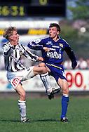 28.05.1995, Kupittaa Stadium, Turku, Finland..Veikkausliiga / Finnish League, Turun Palloseura v Finnairin Palloilijat..Erik Holmgren - FinnPa.©Juha Tamminen