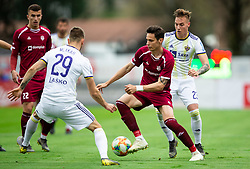 Ivan Crnov of Triglav during Football match between NK Triglav and NK Maribor in 25th Round of Prva liga Telekom Slovenije 2018/19, on April 6, 2019, in Sports centre Kranj, Slovenia. Photo by Vid Ponikvar / Sportida