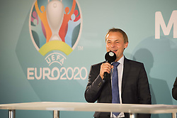 Olaf Thon bei der UEFA Euro 2020 Logo Pr‰sentation f¸r die Spiele in M¸nchen / 271016<br /> <br /> ***Presentation of the Logo for the Munich games at the UEFA EURO 2020, October 27th, 2016***