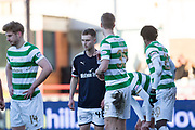 26th December 2017, Dens Park, Dundee, Scotland; Scottish Premier League football, Dundee versus Celtic; Dundee's Matty Hanvey made his debut as a substitute against Celtic