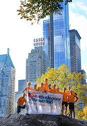 02-11-2013 ALGEMEEN: BVDGF NY MARATHON: NEW YORK <br /> Parcours verkenning en laatste training in het Central Park / <br /> ©2013-FotoHoogendoorn.nl