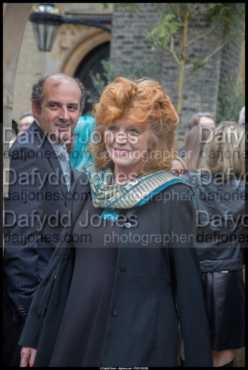 RULA LENSKA, Memorial service for Mark Shand.  . St. Paul's Knightsbridge. September 11 2014.