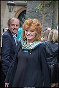 RULA LENSKA, Memorial service for Mark Shand.  . St. Paul's Knightsbridge. September 11 2014.