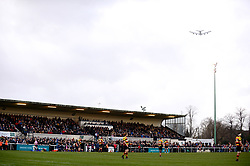 A general view of the Athletic ground  - Mandatory by-line: Dougie Allward/JMP - 30/12/2017 - RUGBY - The Athletic Ground - Richmond, England - Richmond v Bristol Rugby - Greene King IPA Championship