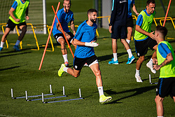 Miha Mevlja during practice session of Slovenian national football team in national football center in Brdo, 2nd of September, 2019, NNC Brdo. Photo by Grega Valancic / Sportida