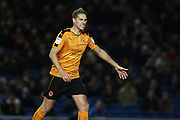 Wolverhampton Wanderers midfielder Dave Edwards (4) during the EFL Sky Bet Championship match between Brighton and Hove Albion and Wolverhampton Wanderers at the American Express Community Stadium, Brighton and Hove, England on 18 October 2016. Photo by Bennett Dean.