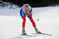 LYSOVA Mikhalina Guide: IVANOV Alexey, RUS at the 2014 IPC Nordic Skiing World Cup Finals - Sprint