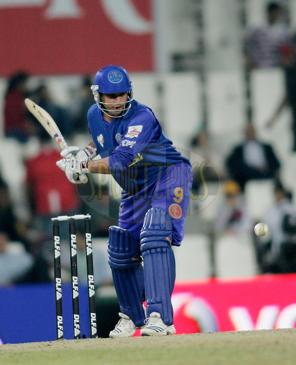 CENTURION, SOUTH AFRICA - 30 April 2009.  during the  IPL Season 2 match between the Rajasthan Royals and the Chennai Superkings held at  in Centurion, South Africa..Rajasthan Royals player Mahesh Rawat in action