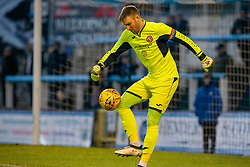 Brora Rangers Joe Malin. Morton 1 v 1 Brora Rangers, 3rd Round of the Scottish Cup played 23/11/2019 at Cappielow, Greenock.