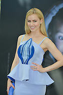 """Amanda Schull from Cast """"12 Monkeys"""" poses at the photocall during the 55th Festival TV in Monte-Carlo on June 15, 2015 in Monte-Carlo, Monaco."""