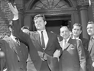 Ted Kennedy in Ireland
