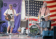 Monroe, New York - Oxford Station plays at the Rhythm 'n Brews concert to benefit Museum Village on June 13, 2015.
