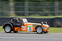 #75 Mark Carter Caterham 7 Classic 1600 during the Caterham Graduates Championship - Super / Classic Classes at Oulton Park, Little Budworth, Cheshire, United Kingdom. August 06 2016. World Copyright Peter Taylor/PSP.