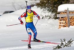 12.12.2010, Biathlonzentrum, Obertilliach, AUT, Biathlon Austriacup, Verfolgung Men, im Bild Oleg Kolodiychuk (RUS, #11). EXPA Pictures © 2010, PhotoCredit: EXPA/ J. Groder