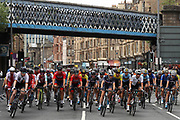 Women Road Race 129,4 km,, The Peloton starts at the 2018 European Championships during the Road Cycling European Championships Glasgow 2018, in Glasgow City Centre and metropolitan areas Great Britain, Day 4, on August 5, 2018 - Photo Laurent lairys / ProSportsImages / DPPI