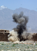demining in the Bagram region by UNMACA local deminers on Monday May 15th 2006.