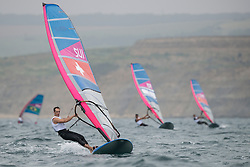 2012 Olympic Games London / Weymouth<br /> RSX man racing day 1 <br /> RS:X MenSUIStauffacher Richard