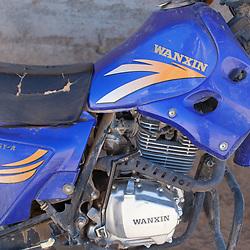 A Wanxin motorbike