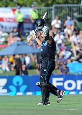Napier-Cricket, 2nd One Day, New Zealand v England, February 20