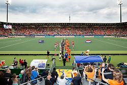 THE HAGUE - Rabobank Hockey World Cup 2014 - 2014-06-10 - MEN - NEW ZEALAND - THE NETHERLANDS -  spelers betreden het kyocera stadion..<br /> Copyright: Willem Vernes