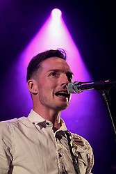 © Licensed to London News Pictures . 31/08/2013 . Rochdale , UK . Dan Gillespie Sells . The Feeling perform at a free gig in Rochdale . Photo credit : Joel Goodman/LNP