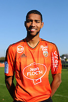 Marvin Gakpa - 02.11.2015 - Portrait Officiel Lorient<br /> Photo : Philippe Le Brech / Icon Sport