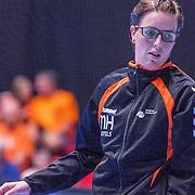 NLD/Den Bosch/20160604 - EK Kwalificatiewedstrijd handbal Nederland - Oostenrijk, Marieke van der Wal