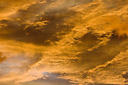 Clouds at sunset