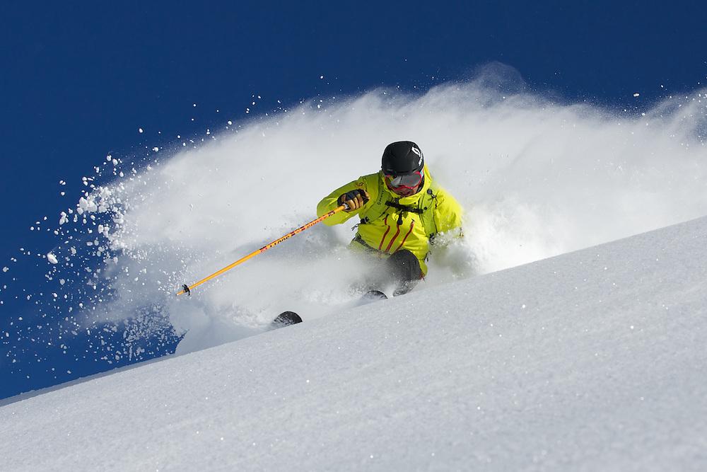 Darren Turner, Skiing Serre Chevalier