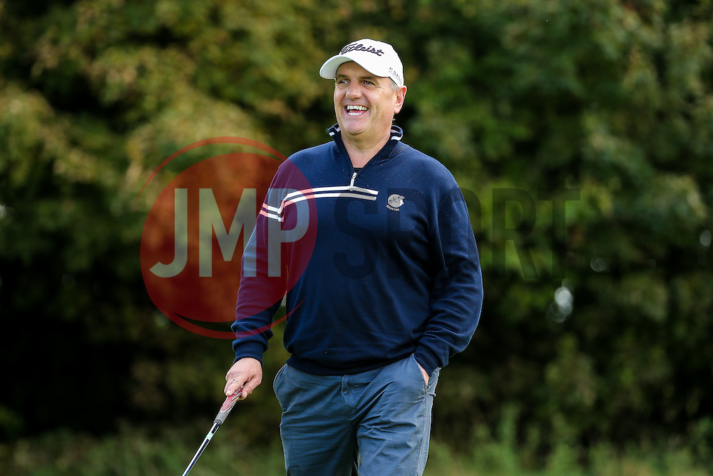 Ian Holtby of Bristol Rovers joins team Wilcox Warriors as they take part in the annual Bristol Rovers Golf Day - Rogan Thomson/JMP - 10/10/2016 - GOLF - Farrington Park - Bristol, England - Bristol Rovers Golf Day.