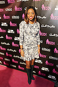 19 November-New York, NY: Tamika Mallory, Civil Rights Activist/On-Air personality attends the 4th Annual WEEN (Women in Entertainment Empowerment Network) Awards held at Helen Mills Theater on November 19, 2014 in New York City.  (Terrence Jennings)