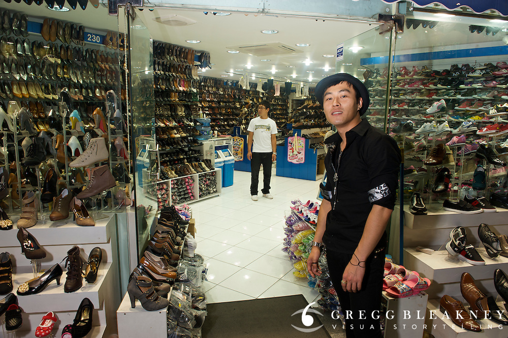 Shoe Vendor - Gyeongju - South Korea