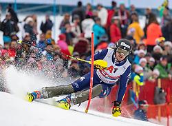 26.01.2020, Streif, Kitzbühel, AUT, FIS Weltcup Ski Alpin, Slalom, Herren, 2. Lauf, im Bild Giuliano Razzoli (ITA) // Giuliano Razzoli of Italy in action during his 2nd run in the men's Slalom of FIS Ski Alpine World Cup at the Streif in Kitzbühel, Austria on 2020/01/26. EXPA Pictures © 2020, PhotoCredit: EXPA/ Johann Groder
