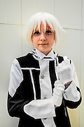 Alleh Walker from D-gray man. Cosplayer at Animefest 2015 in the city of Brno, czech republic.